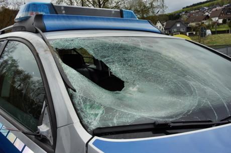 2015-04-25_Wilnsdorf_L722_Unfall_VU-Wild_Polizeiauto_gegen_Hirsch_Foto_Hercher_05