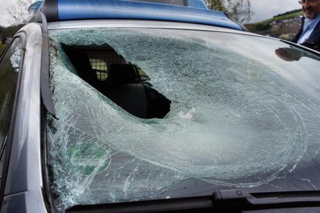 2015-04-25_Wilnsdorf_L722_Unfall_VU-Wild_Polizeiauto_gegen_Hirsch_Foto_Hercher_7