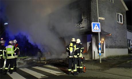 Hausexplosion-Trupbach