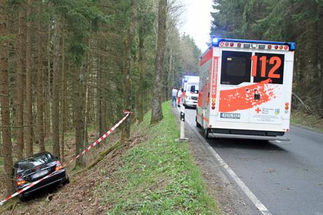 Die beiden Verletzten kamen in eine Klinik | Foto: wirSiegen.de