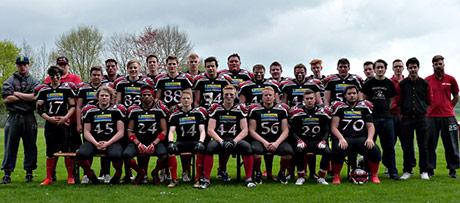 Die U19 Mannschaft der Siegen Sentinels | Foto: Verein