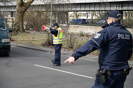 Symbolfoto Anhaltevorgang Polizei | Foto: tm/wS