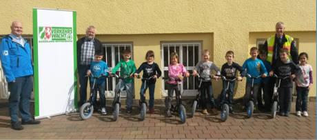 Roller für die Lindenschule. (Foto: Polizei)