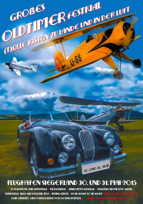 2015-05-09_Burbach_Siegerlandflughafen_Plakat_Oldtimerfestival