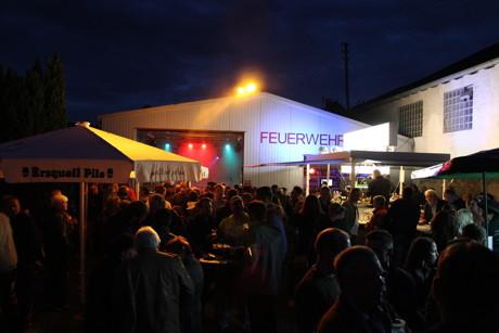 Auch im letzten Jahr fanden sich zahlreiche Besucher zum Feuerwehrfest ein. (Foto: Förderverein)