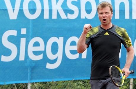 Herren 40 A-Sieger Klaus Süßmann (TV Littfeld)