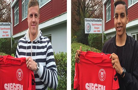 Sabiri und Haberkorn verstärken Sportfreunde Siegen | Foto: Sportfreunde-Siegen