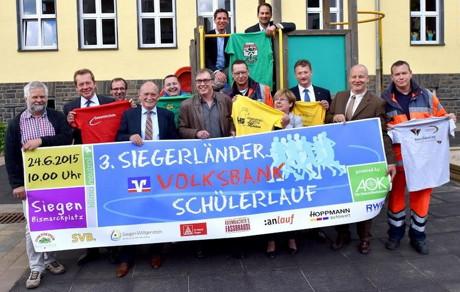 Volksbank-Schülerlauf auch 2015 wieder die Nummer 1. (Foto: Veranstalter)