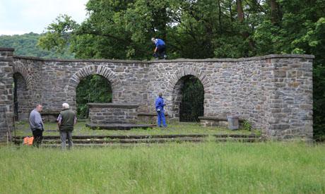 Aufräumaktion Denkmal Weidenau | Foto: wirSiegen.de