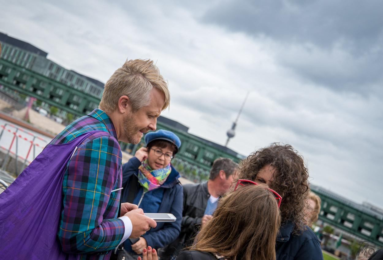 Ross Antony am Spreeufer   Foto: © www.fotojournalist.berlin