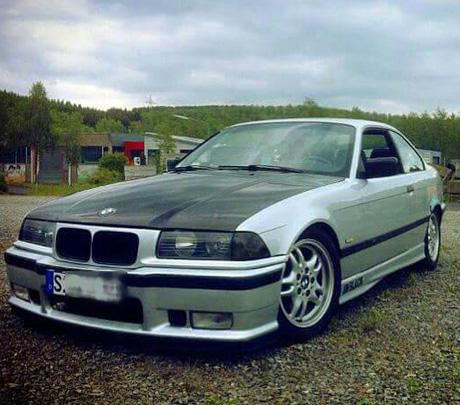 BMW-beschädigt