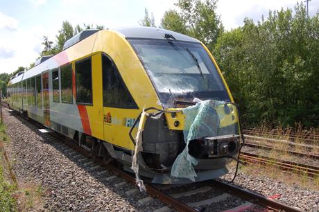Bahnunfall-Gießen