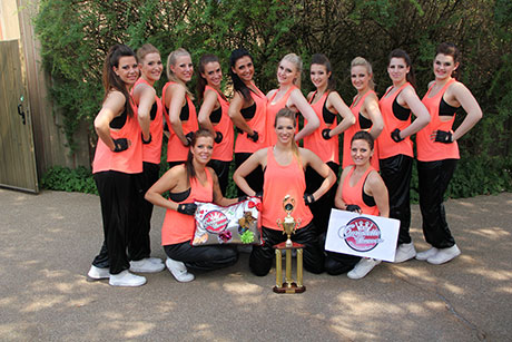 "Die Cheerdancer ""Coronette Dancers"" vom American Sports Club Siegen e.V. 