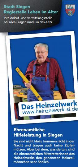 Flyer des Heinzelwerk Siegen