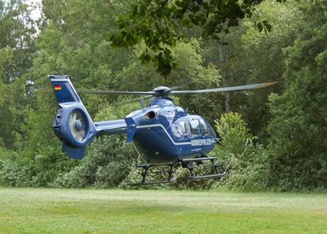Helicopter-Bundespolizei