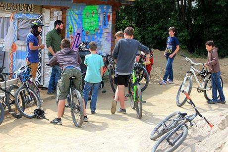 """Kulturrucksack NRW """"ride my bike""""   Foto: Stadt Hilchenbach"""