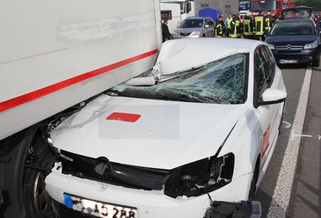 LKW-Unfall-A45-Sauerlandlinie