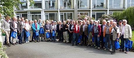 40 Männer nahmen am Informations- und Erlebnistag in Hilchenbach teil | Foto: Stadt Hilchenbach