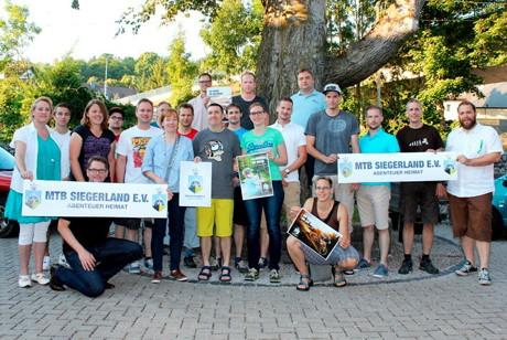 Mit geballter Kraft setzt sich der neu gegründete Verein MTB Siegerland dafür ein, Siegen-Wittgenstein zum attraktiven Treffpunkt für Mountainbiker zu machen. (Foto: Verein)
