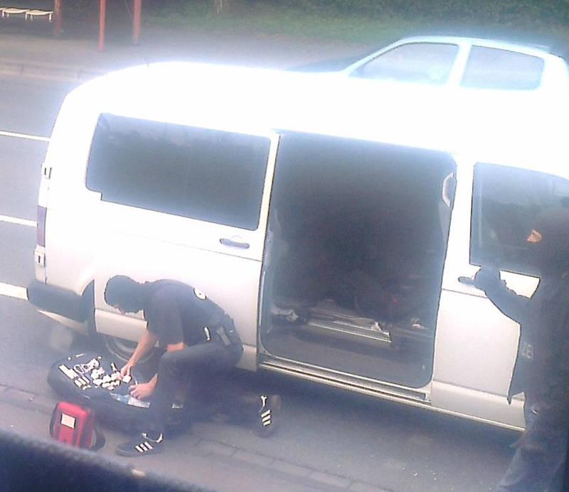 2015-07-15_Kreuztal-Kredenbach_SEK-Einsatz_Festnahme zwei Personen_Fotos_privat_2
