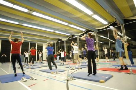 Nach den Plänen der Beszirksregierung wird eine sportliche Nutzung der Halle, zumindest in der vorlesungsfreien Zeit, vorerst der Vergangenheit angehören. (Foto: Uni)