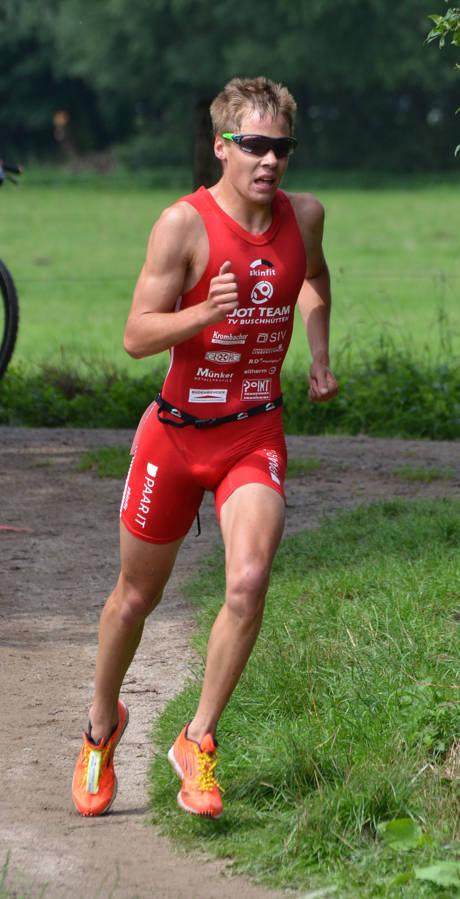 Jonas Hoffmann während des Wettkampfes. (Fotos: Hartmut Hoffmann)