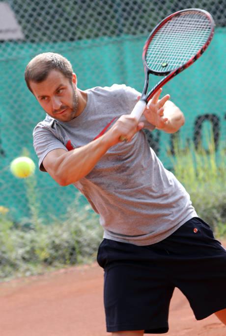 Jan Wüstenhöfer (TC Wilgersdorf), der bei den Herren B zu den Favoriten zählt.