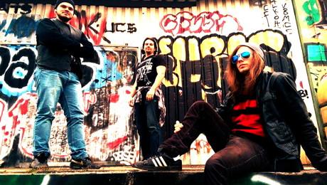 """Hard-Rock aus Köln mit der Band """"Cunning Mantrap""""."""