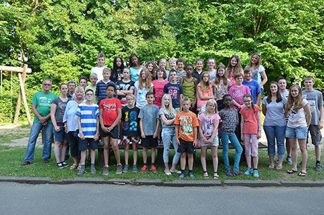 Ostsee-Freizeit bei bestem Wetter: 32 Kinder reisten im Rahmen des Siegener Ferienspaßes nach Haßberg an die Hohwachter Bucht.   Foto: Stadt Siegen