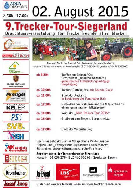 Trecker-Tour-Siegerland