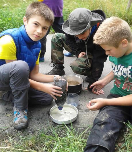 40 Kinder erlebten Abenteuer und Natur pur im Fleckerwald.