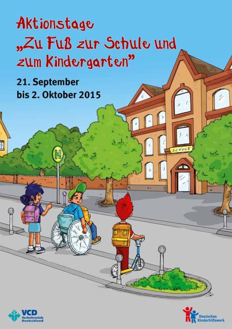 Aktionstage zu Fuß Zur Schule
