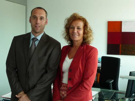 Die Präsidentin des Landgerichts Siegen, Dagmar Lange und Dr. Seibel. (Foto: Landgericht Siegen)