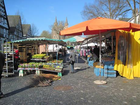 Wochenmarkt in Dahlbruch fällt viermal mittwochs aus! (Foto: Stadt Hilchenbach)