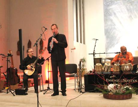 Die Wuppertaler Klezmer Band Ensemble Noisten.