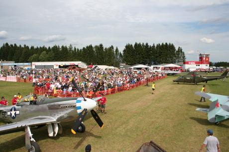 In Breitscheid findet am kommenden Wochenende die größte zivil veranstaltete Luftfahrtshow Deutschlands statt. Die Sicherheit von Zuschauern und Teilnehmern hat dabei oberste Priorität.