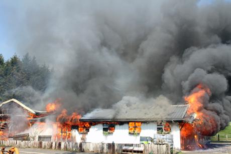 Feuerwehrgroßeinsatz-Siegen