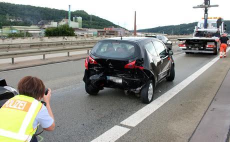 Hüttentalstraße-Unfall