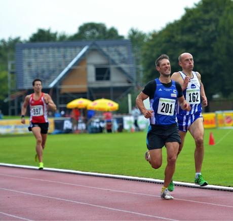 Carsten Wunderlich über 800 m.