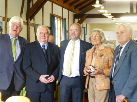 v.l.: Paul Breuer, Martin Sahm, Volkmar Klein, Annelie Becker und Willi Schäfer. (Foto: CDU)