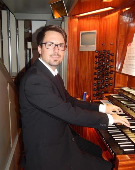 Der junge Konzert-Organist Nicolas Berndt.
