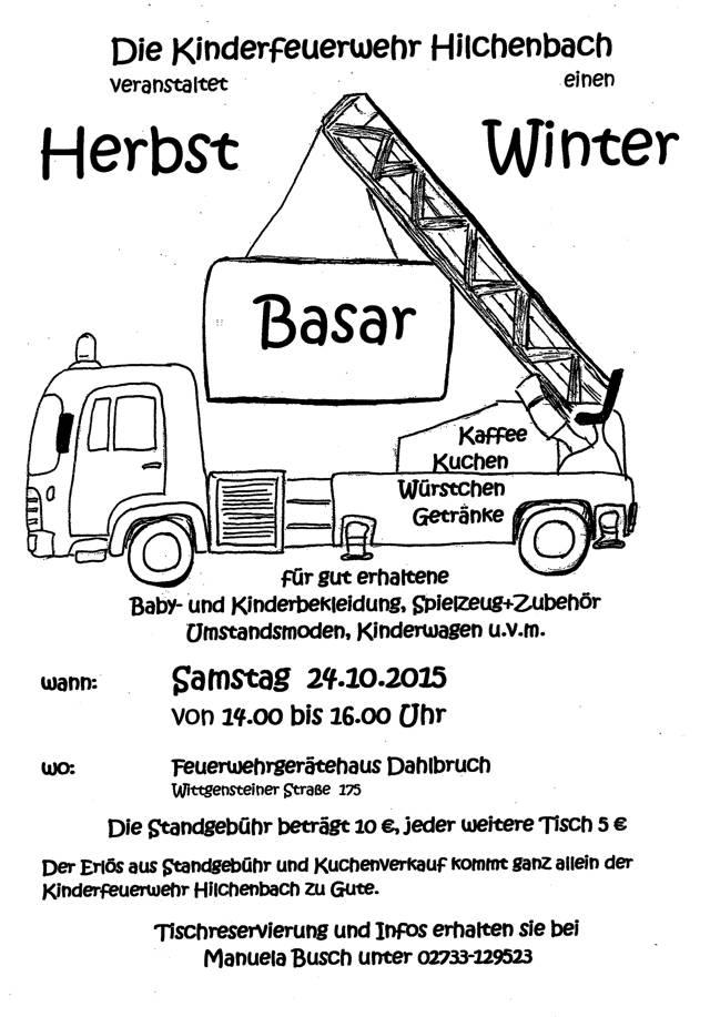 2015-09-08_Hilchenbach_Kinderfeuerwehr Hilchenbach lädt zu einem Herbst-Winter-Basar ein