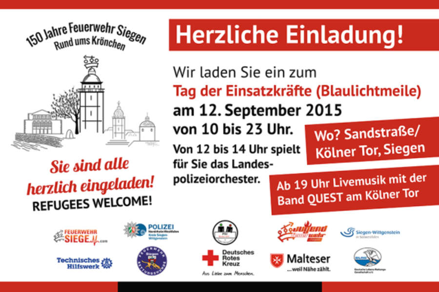 2015-09-11_150Jahre Feuerwehr Siegen_Plakat