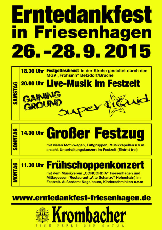 2015-09-14_Friesenhagener Erntedankfest_Plakat