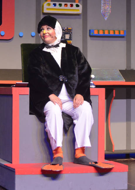 """""""Theater an der Niebuhrg"""" statt. Gezeigt wird der """"Dickste Pinguin vom Pol"""". (Foto:  Klaus Schilda)"""
