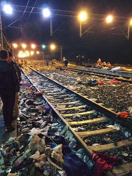 Flüchtlingsarbeit in Tovarnik 3 (c) SOS Konvoi