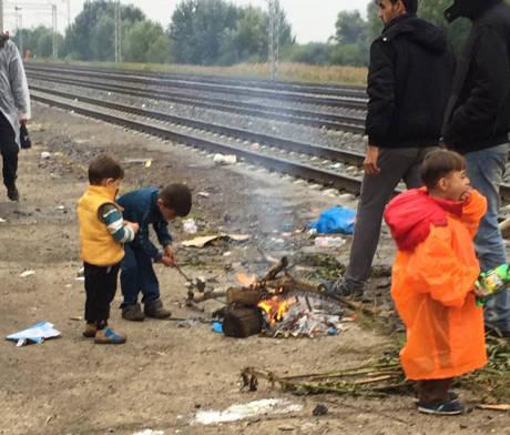 Flüchtlingsarbeit in Tovarnik 4 (c) SOS Konvoi