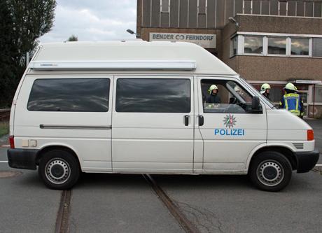 Polizei-Ferndorf-Feuer