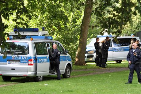 Polizei-Razzia-Siegen