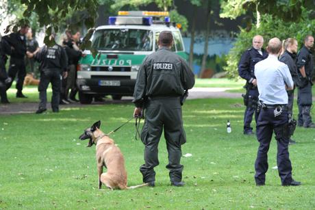 Polizeieinsatz-Siegen